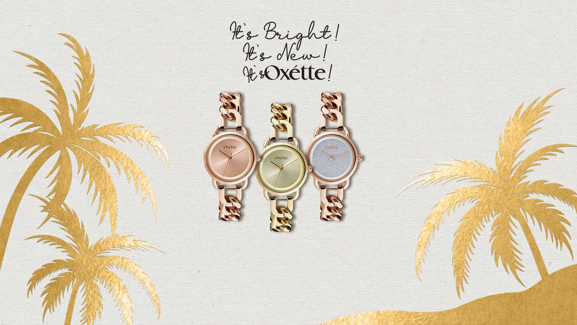 New Link Watches - Oxette