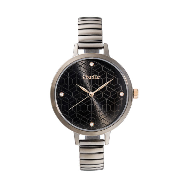 Oxette Voyage Watch Black