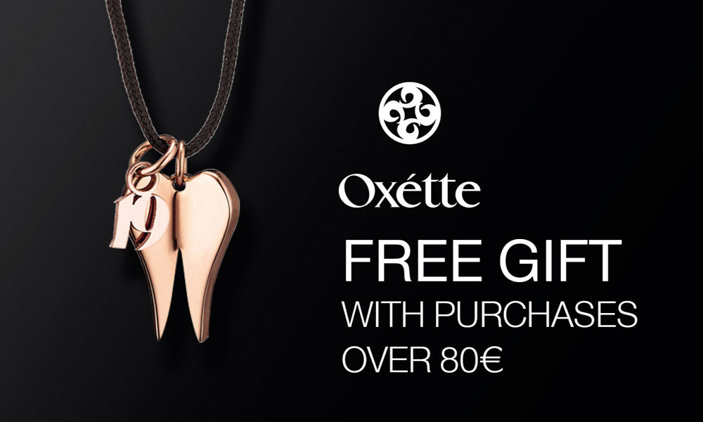 Free gift with purchases over 80€ - Christmas Oxette