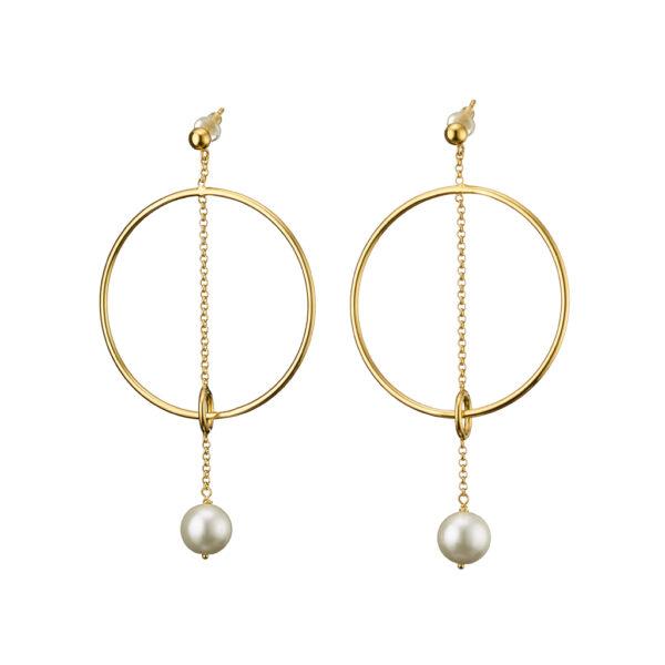 03X05-02032 Oxette Anaconda Earrings