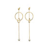03X05-02033 Oxette Anaconda Earrings