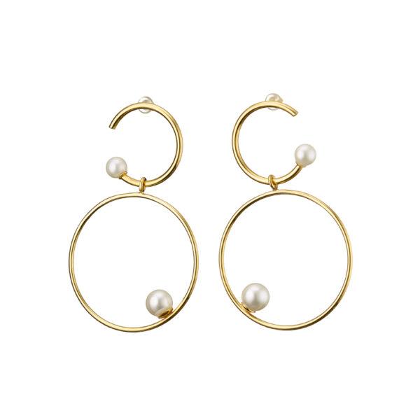 03X05-02034 Oxette Anaconda Earrings