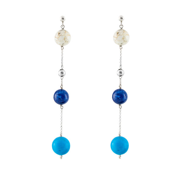 03X05-02056 Oxette Peacock Earrings