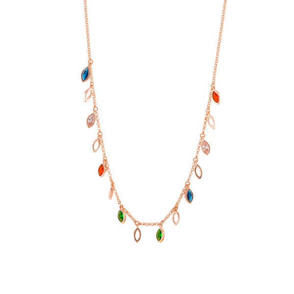 01X15-00115 Oxette Reflective Necklace