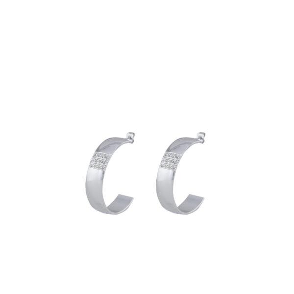 03X03-00069 Oxette Heavy Metal Earrings