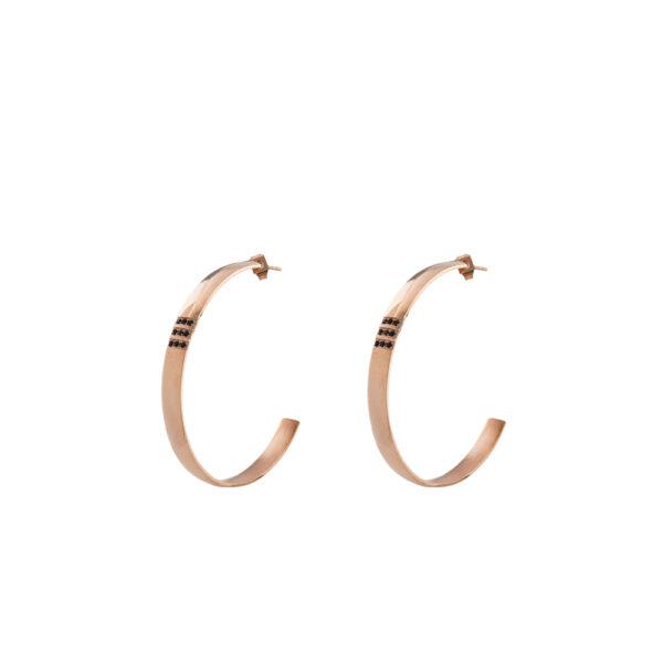 03X27-00257 Oxette Heavy Metal Earrings