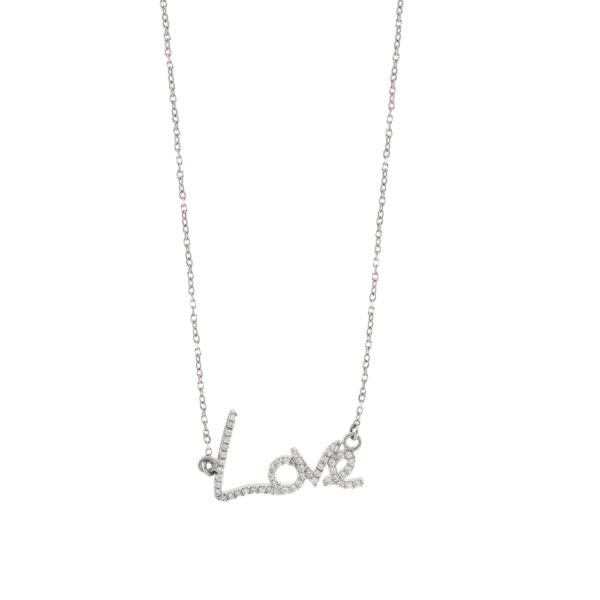 01X01-04872 Oxette Love And Kisses Necklace