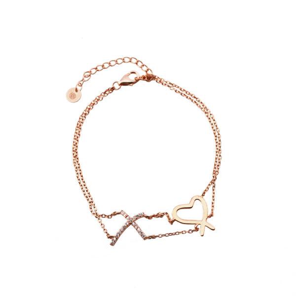 02X05-01856 Oxette Love And Kisses Bracelet