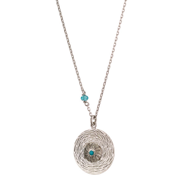 01X01-04977 Oxette Fetish Silver Necklace
