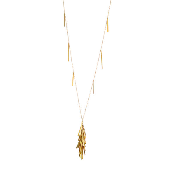 01X05-02710 Oxette Striking Gold Necklace