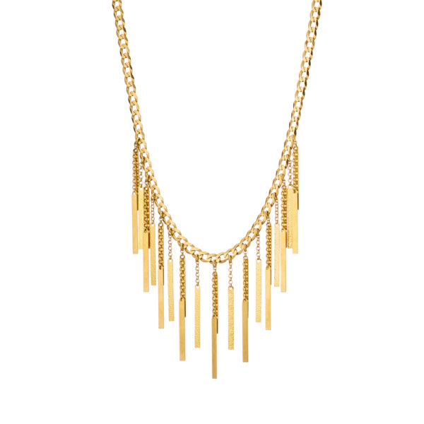 01X05-02711 Oxette Striking Gold Necklace