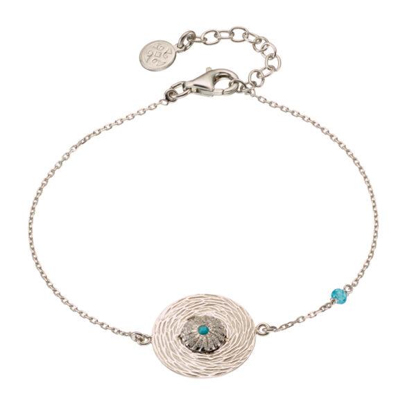 02X01-03169 Oxette Fetish Silver Bracelet