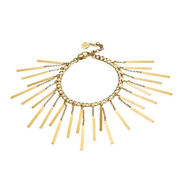02X05-01913 Oxette Striking Gold Bracelet