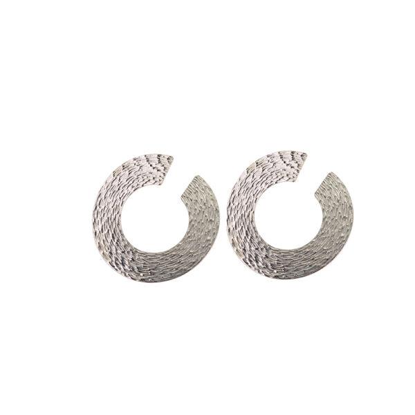 03X01-02922 Oxette Fetish Silver Earrings