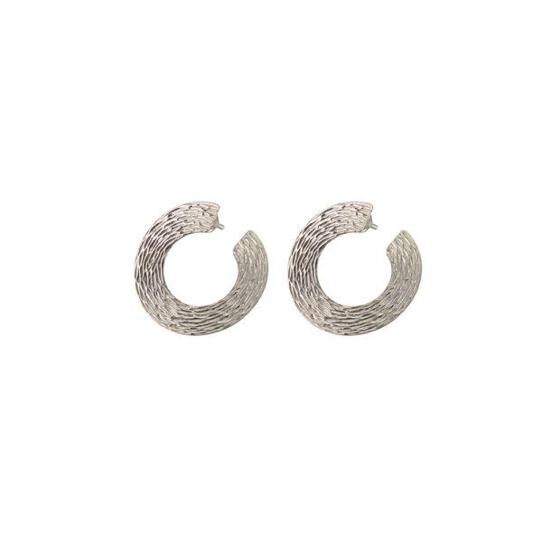 03X01-02924 Oxette Fetish Silver Earrings
