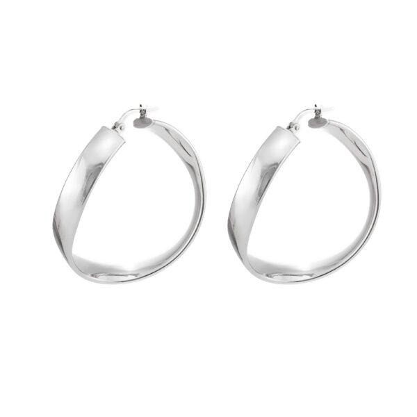 03X01-02933 Oxette Hoop Earrings