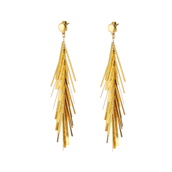 03X05-02275 Oxette Striking Gold Earrings