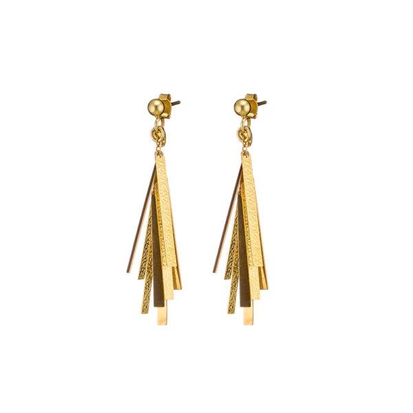 03X05-02276 Oxette Striking Gold Earrings