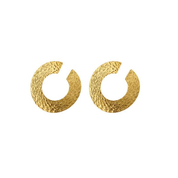 03X05-02281 Oxette Striking Gold Earrings