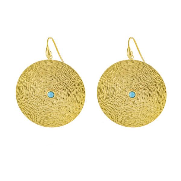 03X05-02316 Oxette Striking Gold Earrings
