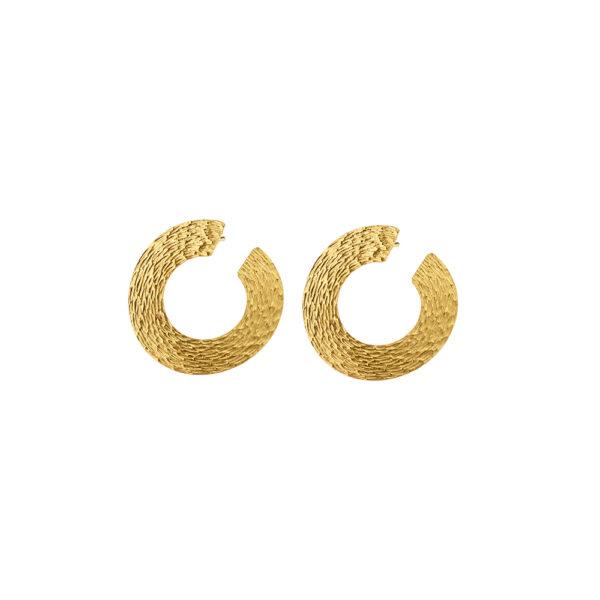 03X05-02323 Oxette Striking Gold Earrings
