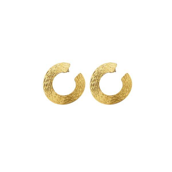 03X05-02324 Oxette Striking Gold Earrings