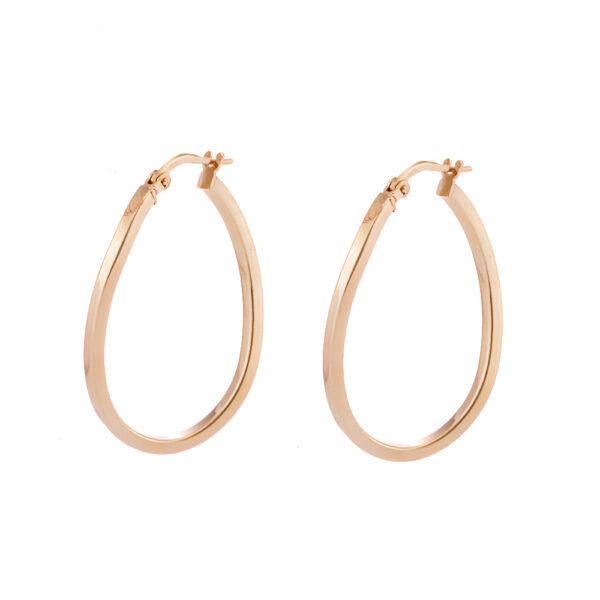 03X05-02341 Oxette Hoop Earrings