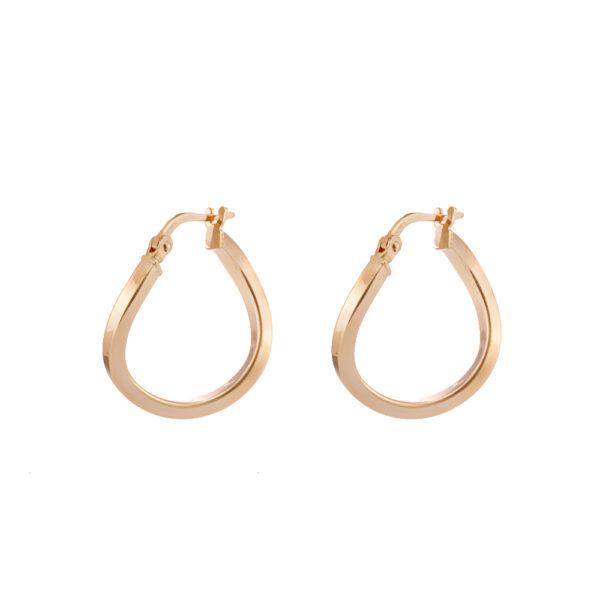 03X05-02344 Oxette Hoop Earrings