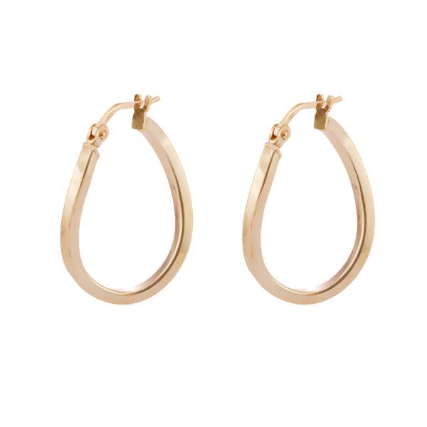 03X05-02345 Oxette Hoop Earrings