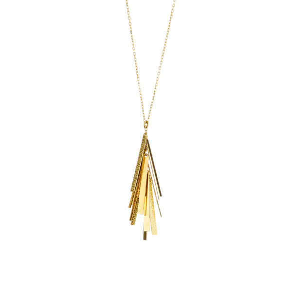01X05-02743 Oxette Striking Gold Necklace