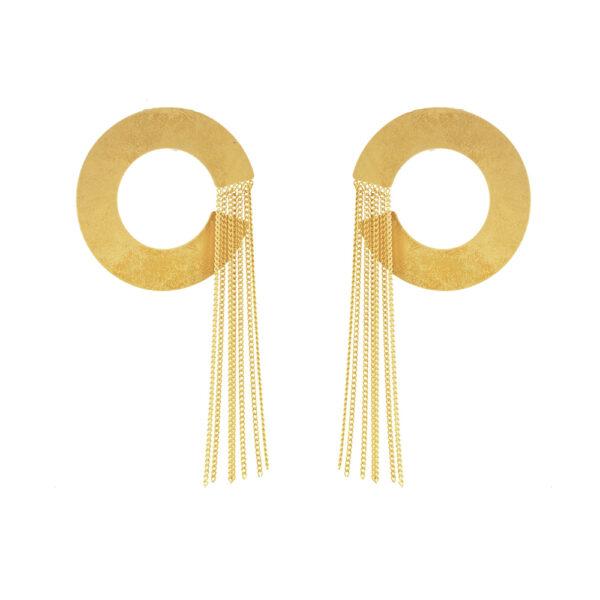 03X05-02326 Oxette Striking Gold Earrings