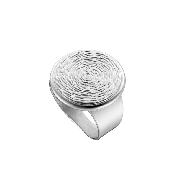 04X01-03705 Oxette Fetish Silver Ring