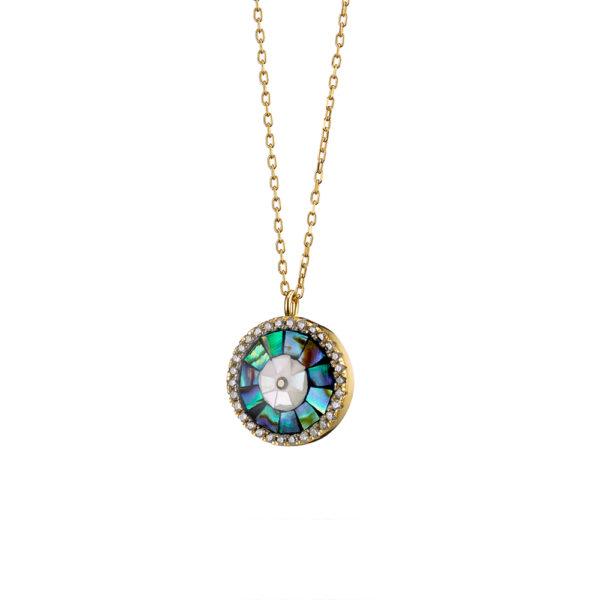 01X05-02756 Oxette Passion Blue Necklace