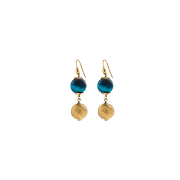 03X05-02311 Oxette Striking Gold Earrings