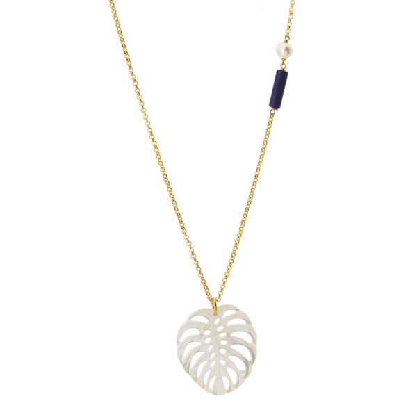 01X05-02747 Oxette Passion Blue Necklace