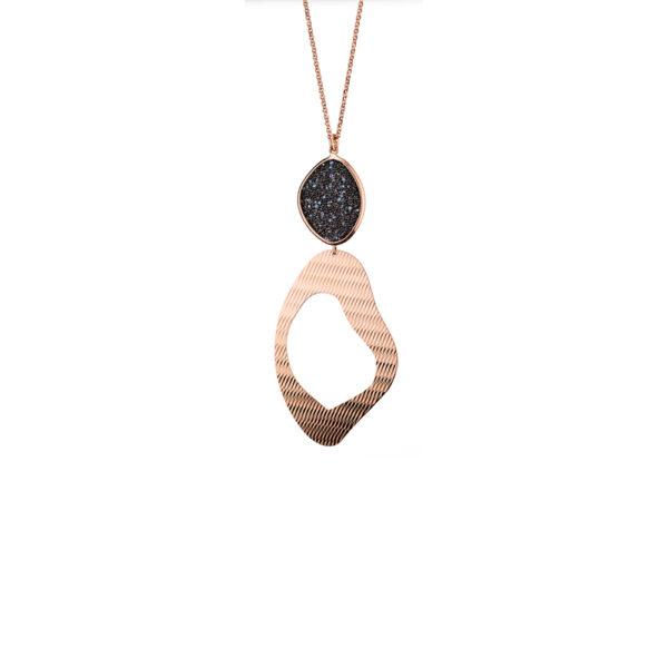 01X05-02860 Oxette Leopard Necklace