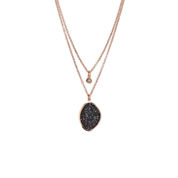 01X05-02859 Oxette Leopard Necklace