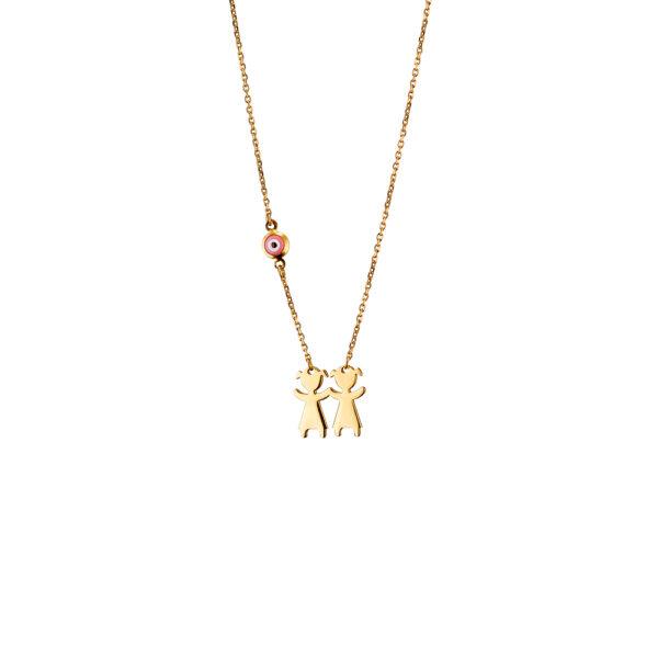01X05-02934 Oxette Love Messages Necklace