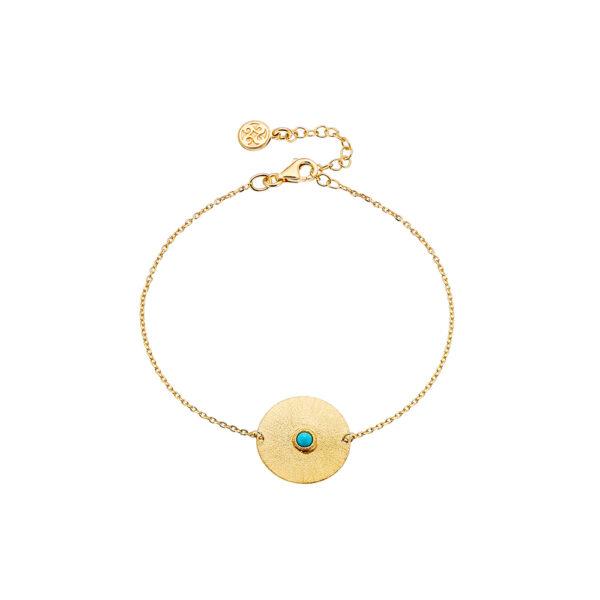 02X05-02056 Oxette Striking Gold Bracelet