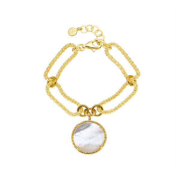 02X05-02065 Oxette Striking Gold Bracelet