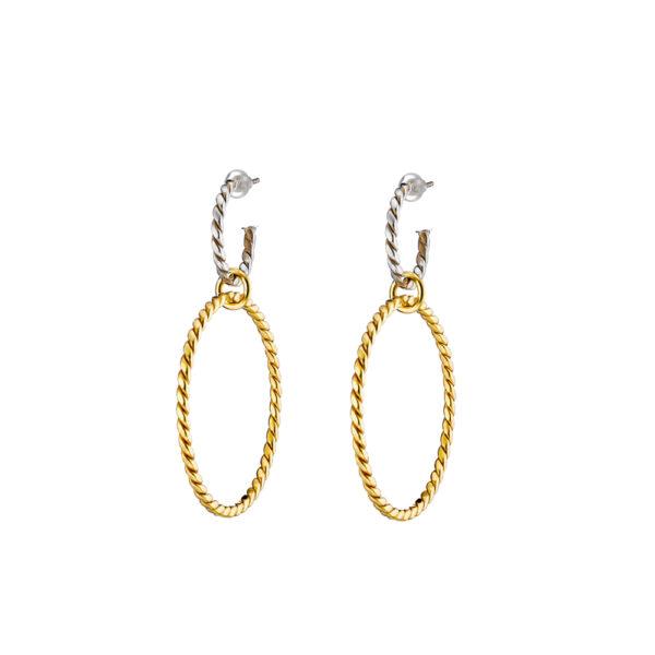 03X01-03007 Oxette Rocking Earrings