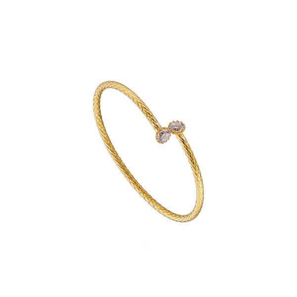 02X05-02062 Oxette Striking Gold Bracelet