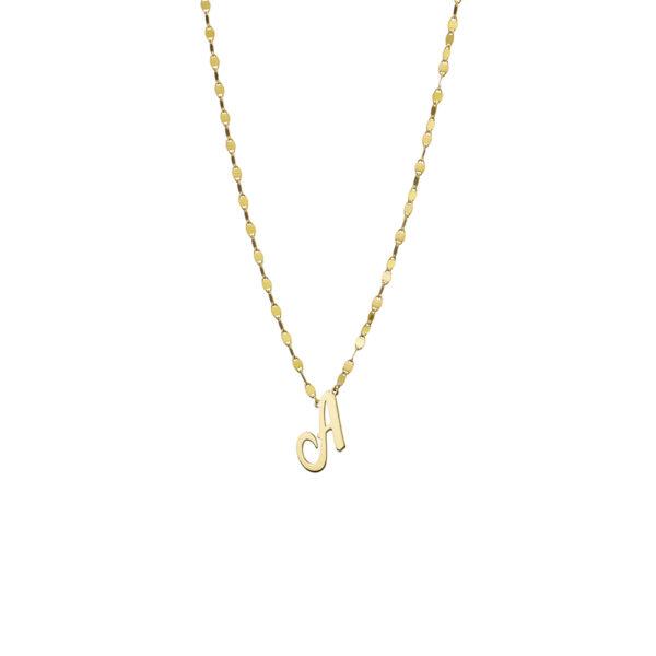 01X05-02986 Oxette Alphabet Necklace